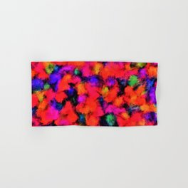 Bright Rainbow Colors Hand & Bath Towel