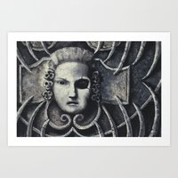 gothic Art Prints featuring Gothic by Chris Kitzmiller