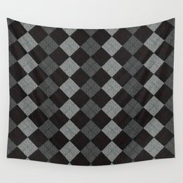 Golf Grey Wall Tapestry
