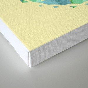 Sand and Silk Mandala 2 Canvas Print