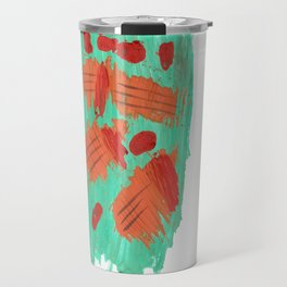 Traces on a grass... Travel Mug