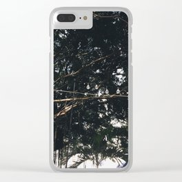 Light Structures in Casco Viejo Clear iPhone Case