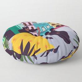 Havana ft. Salsa Dancers Floor Pillow