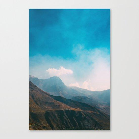 I'm alive Canvas Print