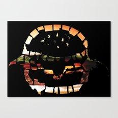 United States of Burger Canvas Print