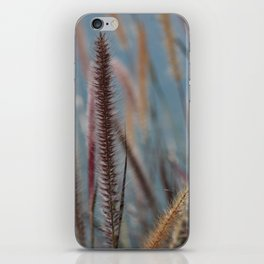 Fuzzy Reeds iPhone Skin