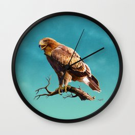 Booted Eagle Wall Clock