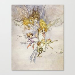 """The Magic Mirror"" by Duncan Carse Canvas Print"
