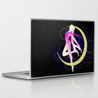 sailormoon Laptop & iPad Skins featuring Sailor Moon by MivMusse