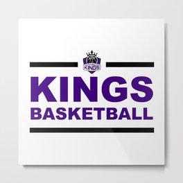 Kings Basketball Metal Print