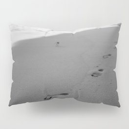 Footprints In The Sand Bathroom Decor Pillow Sham