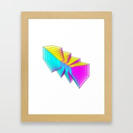 Cubes 4 Framed Art Print