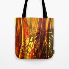 The beauty uncertain, behind its light curtain Tote Bag