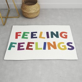 Feeling Feelings Rug