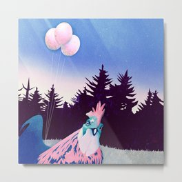 What the Hegg (Pink Version) Metal Print