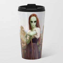 Bouguereau's Alien Shepherdess Travel Mug