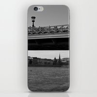 budapest iPhone & iPod Skins featuring Budapest by sandor