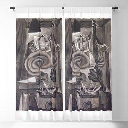 Pablo Picasso, Still Life with Blood Sausage (Nature morte au boudin), 1941 Artwork Blackout Curtain