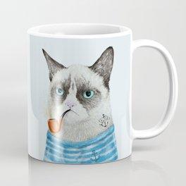 Sailor Cat I Coffee Mug