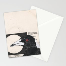 His Master's Voice - Magpie Stationery Cards