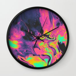 WRONG SIDE OF LIFE Wall Clock