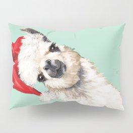 Christmas Sneaky Llama Pillow Sham