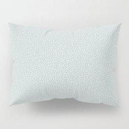 SILVER STARS CONFETTI Pillow Sham
