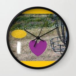 I Heart Those Chains Wall Clock
