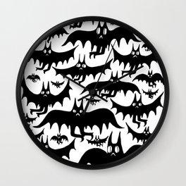 Derpy Bat Parade Wall Clock