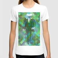 clown T-shirts featuring Clown... by William Rutherford