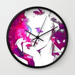 Pink Marilyn Wall Clock