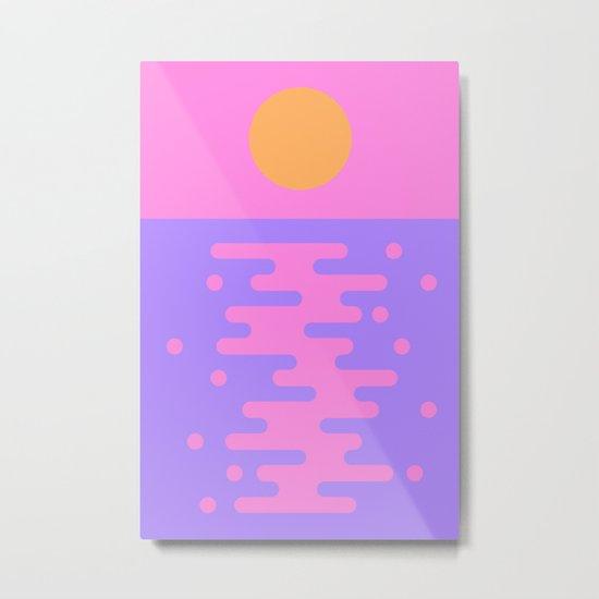 Paradise Sunset Metal Print