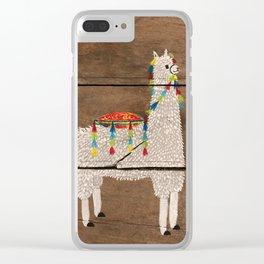 I'm a Llama Clear iPhone Case