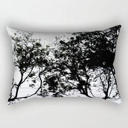 Natural Ink Splash Rectangular Pillow