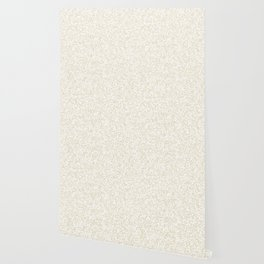 Tiny Spots - White and Pearl Brown Wallpaper