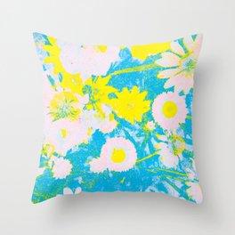 wild echinacea  Throw Pillow