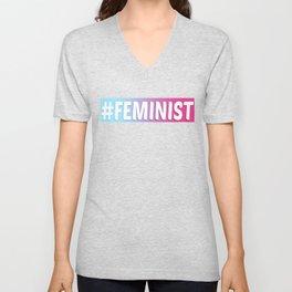 #FEMINIST Unisex V-Neck