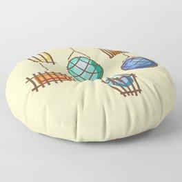 Tiki Lights Floor Pillow