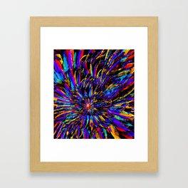 Mardi Gras - Celebration of Color Framed Art Print