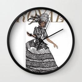 Ruby Royal Wall Clock