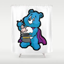 TEDDY BEAR MAGICIAN Wizard Sorcerer Magic Magus Shower Curtain