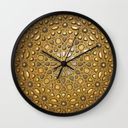 Stars of Morocco Wall Clock