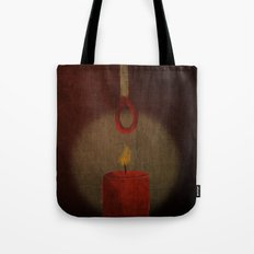 the match kills the candle Tote Bag