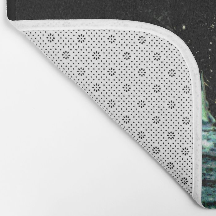 lookout to the stars Bath Mat