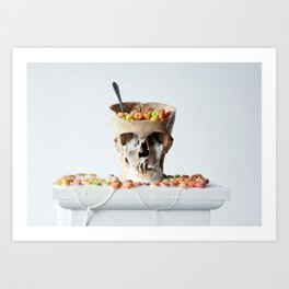 Cereal Killer #2 Art Print