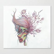 Sorting through Weeds Canvas Print