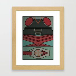 Kamen Rider X Framed Art Print