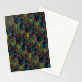Colorful abstract pattern  Stationery Cards