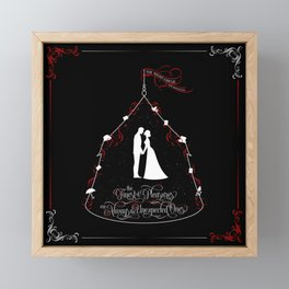 The finest of pleasures are always the unexpected ones. The Night Circus Framed Mini Art Print