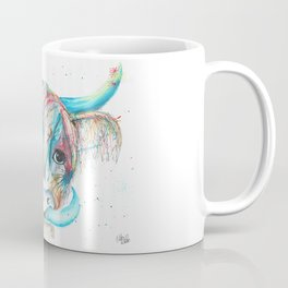 Highland Cattle full of colour Coffee Mug